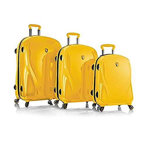 Fantastic Deal! Heys Xcase 2g Set 3 Pcs Spinner Set Limited Edition (Citron Yellow)