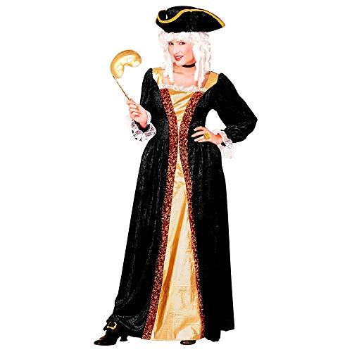 WIDMANN Nobildonna Veneziana Vestito Cappello Costumi Completo Adulto Party 741 Donna, Multicolore, (L), 8003558441631