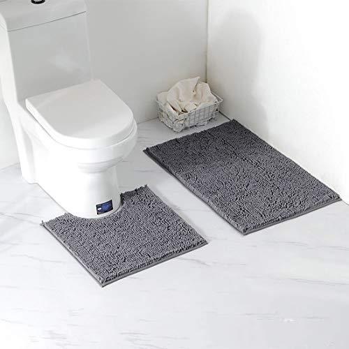 Alfombras de baño para el baño,alfombras Antideslizantes y Alfombrillas con Absorbente de Agua,Alfombrilla de baño para pies,Lavable a máquina