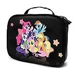 My Little Pony - Neceser de maquillaje para viaje, grandes cajas de cosméticos para mujeres y niñas