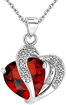 Mixpiju Infinity Love Heart Pendant
