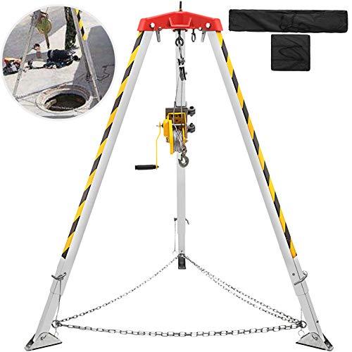 VEVOR Soporte de Aluminio ≤ 180 kg, Trípode de Construcción con Patas...