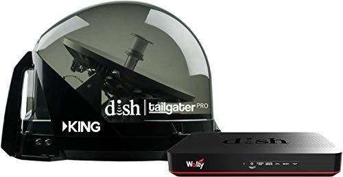 RV Wholesale Direct Dish Bundle DTP4900 Tailgater PRO Premium Satellite TV Antenna w/Wally Receiver