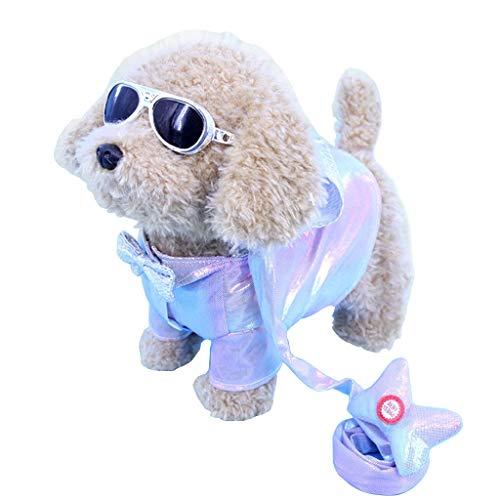 Chenggong Cuerda eléctrica para cachorro, juguete de estimulación para mascotas, juguete de control electrónico interactivo
