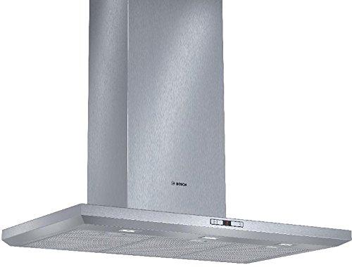 Bosch DWB098E50 Serie 6 Wandhaube / 90 cm / Wahlweise Abluft- oder Umluftbetrieb / EcoSilence Drive / edelstahl