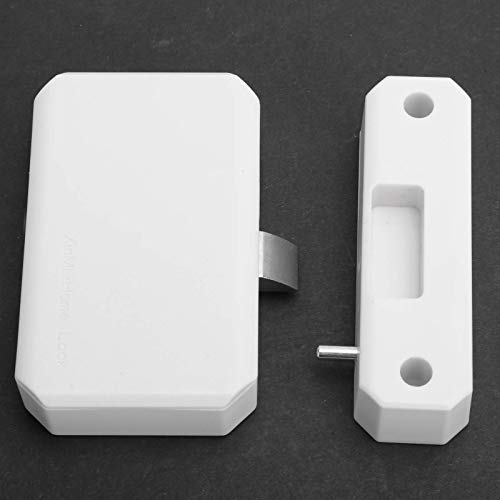 Kit de cerradura de cajón, cerraduras de tarjeta de identificación para gabinetes Cerradura de bricolaje oculta Cerradura electrónica de gabinete para buzón