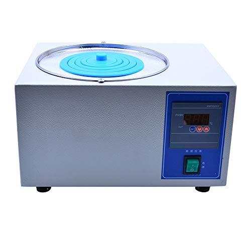 KATLY Digitales Thermostat-Wasserbad Labor-Wasserbad, Elektrische Digitalanzeige mit konstanter Temperatur, wählbare Öffnungen, RT bis 100 ° C, 300W,5L