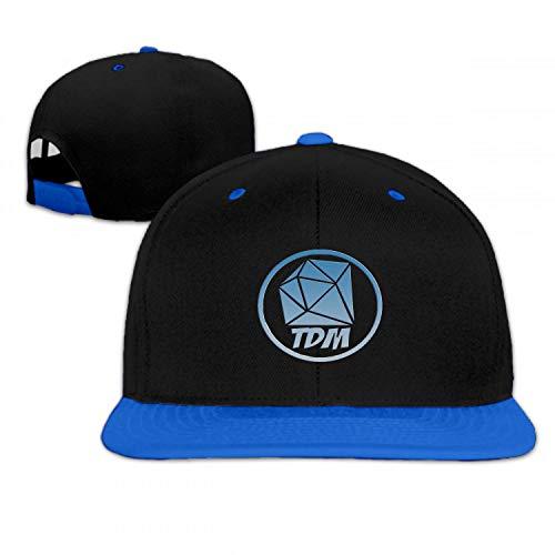 Ervyn The Diamond Minecart DAN TDM Boys/Girls Adjustable Flat Brim Baseball Cap