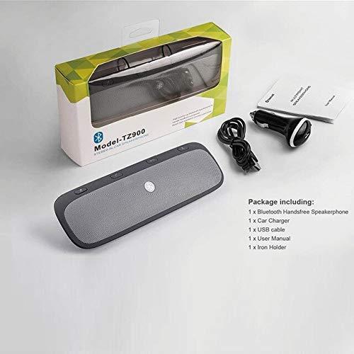 Mirage Altavoz Bluetooth Cargador de Vehículo Bluetooth Manos Libres for Llamadas Reproducción...