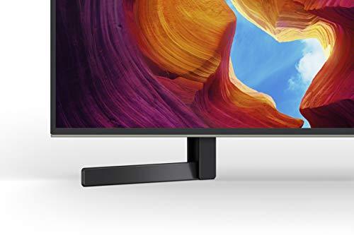 Sony KD-49XH9505 Bravia 124 cm ( 49 Zoll) Fernseher (Android TV, LED, 4K Ultra HD (UHD), High Dynamic Range (HDR), Smart TV, Sprachfernbedienung, 2020 Modell), Schwarz