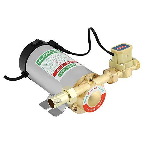 ETE ETMATE Bomba de aumento de presión doméstica de 150 W, bomba automática de aumento de presión para tuberías de agua caliente y fría