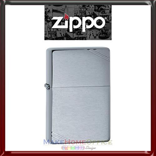 Accendino'Zippo' Mod. 230 Vintage Cromo Satinato Benzina Ricaricabile Antivento'Modello Classic'