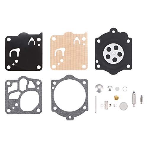 sourcing map Carburador Reconstrucción Kit Junta Diafragma K15-WJ K12-WJ para Husqvarna 3120XP 3120 272 268 61 MS660 066 Walbro Motores Carburador 3uds