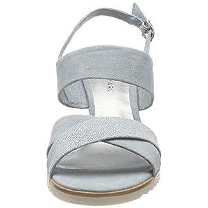 MARCO TOZZI 2-2-28700-22, Sandali con Cinturino alla Caviglia Donna