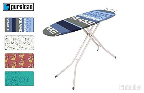 Pur Clean copertura universale per asse da stiro, in tessuto non tessuto che accumula il calore, diversi motivi