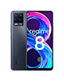"realme 8 Pro Smartphone, Ultra Quad Camera da 108 MP, Display Super AMOLED da 16,3 cm (6,4""), Ricarica SuperDart da 50W, Grande batteria da 4.500 mAh, Dual Sim, NFC, 6+128GB, Infinite Black"