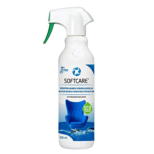M-SOLUCIONES - Softcare Protector Anti-Manchas para Textiles a Base de Agua para Sofás, Sillas, Asientos del Coche