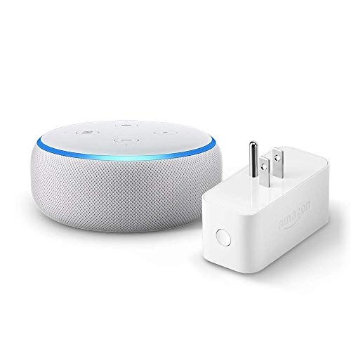 3rd Gen Echo Dot Bundled w/ Amazon Smart Plug $34.99 (53% OFF Deal)