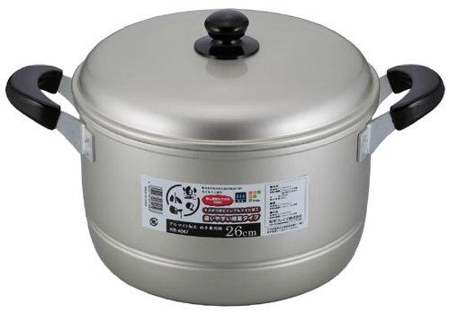 和平フレイズ 両手鍋 煮物 カレー シチュー 楽々小町 26cm アルマイト加工 RR-4067