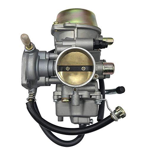SGHKKL 42mm großer Verdrängungsvergaser für Yamaha SILVERTIP YFM 600 YFM660 ATV Quest 650 2002 2003 2004 2005 2006 2007 2008 ATV