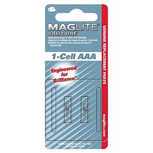 Mag-Lite Solitaire  LK3A001U Bombillas de reposición para lamparas de mano de batería AAA