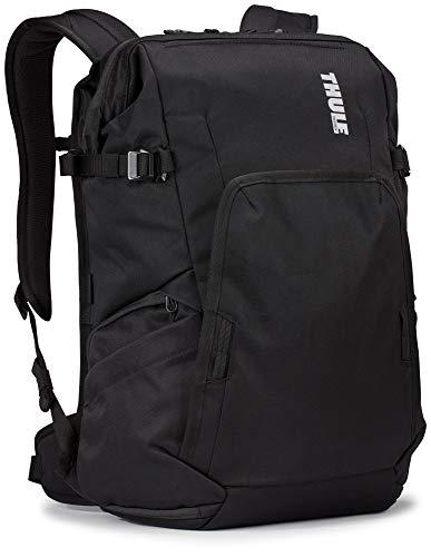 THULE Covert DSLR Backpack Mochila  Adultos Unisex  Black  Negro   24l