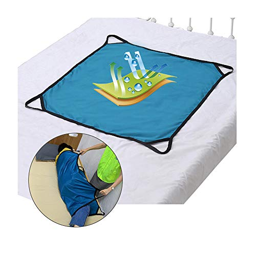 Transfer Board Slide Patient Lift Transfer Belts Lifting Seniors Disabled Positioning Pad Draw Sheet Hospital Bed Pads with Handles for Turning, Lifting & Repositioning (39