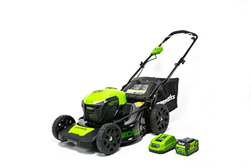 Greenworks Pro 60V Electric Lawn Mower