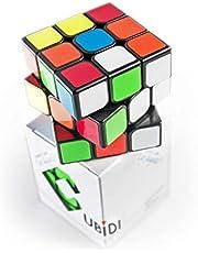 CUBIDI® Magisk kub – typ Los Angeles – utan klistermärke – speedcube 3 x 3 med optimerade egenskaper för hastighetskubing – magisk kub för nybörjare och avancerade