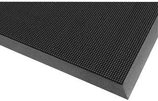 NoTrax Rubber Brush Floor Matting - 24in. x 32in. Black, Model Number 345S2432BL