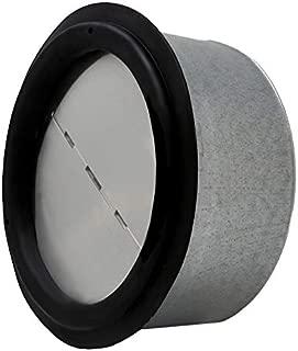 ALDES 4 Inch Round Spring Loaded Backdraft Damper - Professional Grade