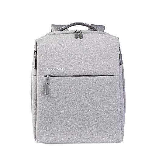 'Xiaomi MI City Polyester Grau Rucksack–Rucksäcke (Polyester, Grau, Einheitlich, Unisex, 33cm (13Zoll), 35,6cm (14))