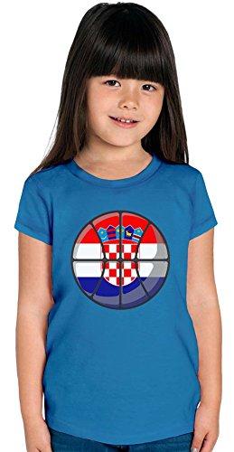 Croatia Basketball Girls T-shirt 12+ yrs