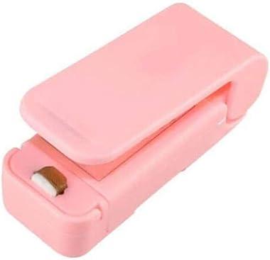 Máquina de sellado de bolsas de plástico, mini sellado portátil para el hogar, prensa de mano para bolsas de plástico, sellad