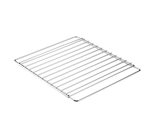 Invero Universal Stainless Steel Adjustable Extendable Oven Cooker Rack Grill Cooking Tray Shelf - Adjusts from 39cm to 56cm Suitable for Most Ovens