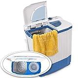 TecTake® 4,5 kg Mini Waschmaschine Miniwaschmaschine + 3,5 kg Wäscheschleuder Kombination - 5
