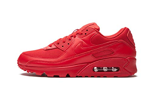 Tênis masculino Nike Air Max 90, University Red/Black/University Red, 11