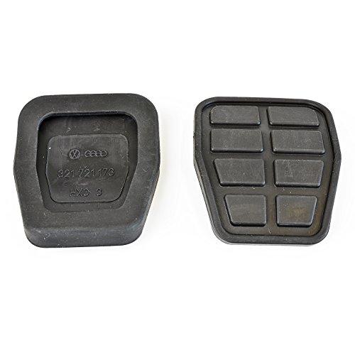1x Gummi Belag Bremspedal und Kupplungspedal | 321721173 | 65 mm x 55 mm