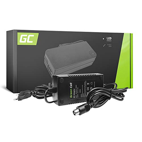 Green Cell® Cargador (29.4V 2A 58W) para Freway Gazelle Giant Greens Haibike...