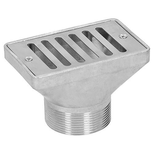 zhoul - Drenaje de suelo de piscina antiolor de acero inoxidable de rosca macho de 2 pulgadas,cubierta de desagüe de residuos, accesorios de escurridor de ducha de baño de hotel y piscina