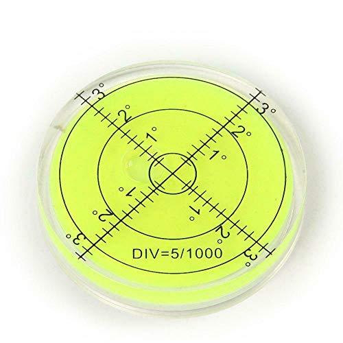 Große Wasserwaage in Zielscheibendesign / Dosenlibelle, 65mm, rund