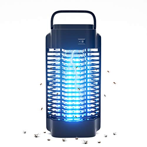 Lukasa Moustique Tueur Lampe, 18W UV Electrique Moustique Killer Lampe, Electrique Anti Insectes Répulsif, Tueur De Moustique Lampes Répulsif Anti Insecte Zapper, Efficace Portée 100m²