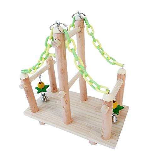 FJKYF Jaula para pájaros, para jugar en el gimnasio, perca, parque infantil, loro, escalada, masticar, cadena de eslabones, regalo para pájaros