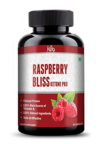 JNB Raspberry/Blueberry/Blackberry Bliss Ketone Pro capsules with weight loss supplement and Ultimate fat burner RASPBERRY 60 caps