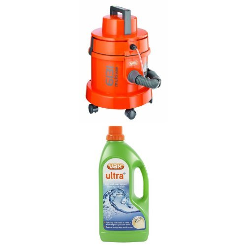 Vax 3-in-1 Canister Vacuum Cleaner, 1300 W - Orange