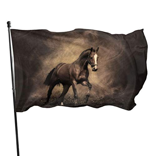 N/A American Guard Vlag Banner Home Flags Paard sVolledige Zoek Verticale Garde voor Familie Patio College Decoratie 3x5 Voet