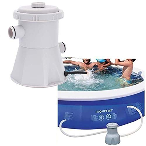 HONGHUIYU 220 V Hohe Qualität Elektrische Filterpumpe Schwimmbad Filterpumpe Wasser Reinigen Klar Schmutzige Pool Teichpumpen Filter Nennleistung 15 Watt