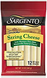 Sargento Natural String Cheese Snacks, 12-Count