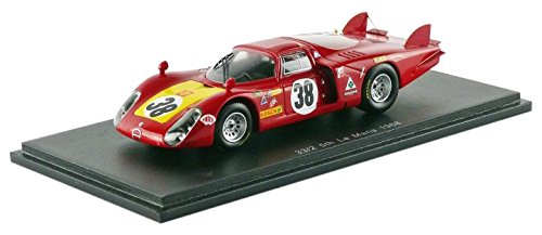 Spark- Miniature Voiture de Collection, S4367, Rouge/Jaune