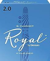 CAムAS CLARINETE - Rico Royal By DエAddario (Caja Azul) (Dureza 2) (Caja de 10 Unidades)